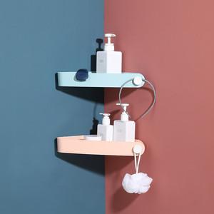 bath room corner shelf 4colors / バスルーム コーナー シェルフ 取り付け 棚 お風呂場 浴室 キッチン 整理整頓 収納 韓国 インテリア 雑貨