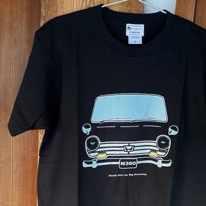 HONDA N360 Tシャツ <ブラック>