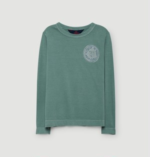 【THE ANIMALS OBSERVATORY 】クリームスタンプ ロングスリーブTシャツ|DOG KIDS LONG-SLEEVE  T-SHIRT / 543-103EP