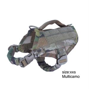 KILONINER (キロナイナー) Compact K9 Tactical MOLLE Dog Vest (ドッグベスト) XXSサイズ