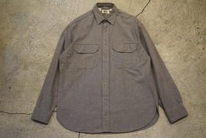 USED 80s REI Chamois cross shirt -Large S0698