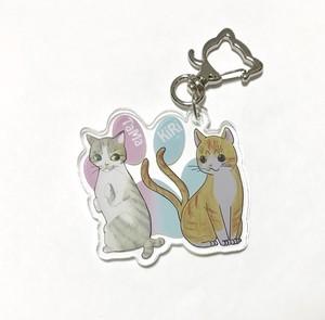 【柾木仁平】猫-7 うちの子猫又アクキー(きりたま)