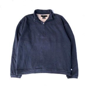 USED NIKE GOLF Half Zip Sweat - navy
