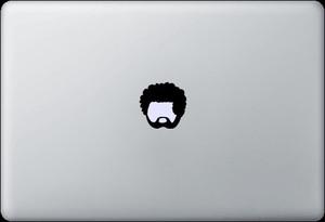 Sticker - Afroman for Macbook