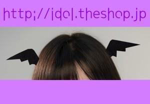 【SALE】悪魔のヘアクリップ