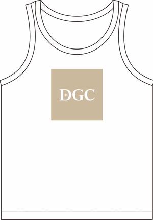 【DGC】ベージュロゴTシャツ