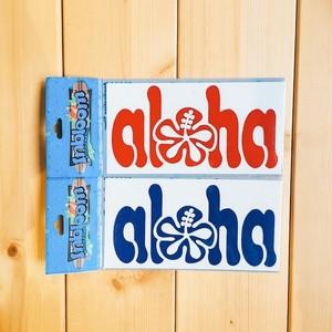 ハワイステッカー ALOHA