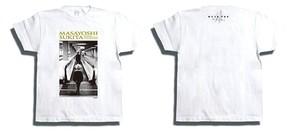 オリジナルTシャツ - 動く歩道と少年 (WHITE)