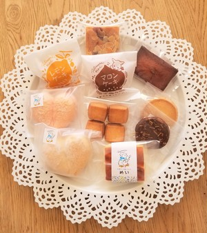 【おやつ】おうち時間においしい焼き菓子セットA