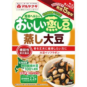 マルヤナギ おいしい蒸し大豆 100g