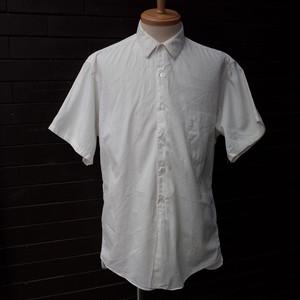"""60's """"VAN HEUSEN"""" Short Sleeve Shirt White / 60年代 [ヴァン ヒューゼン] 半袖 シャツ ホワイト"""