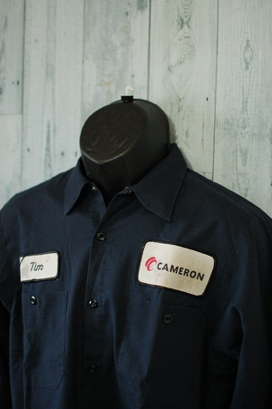 アメリカ輸入古着 ワークシャツ ARAMARK UNIFORM(アラマークユニフォーム)