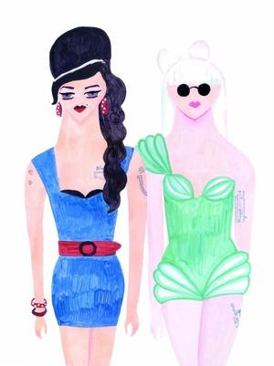 【2-1】 関川恵 「Amy & Gaga」