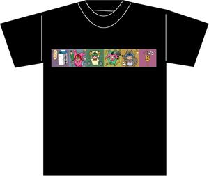 受注作品Tシャツ(常盤ゆいアバター集合!)