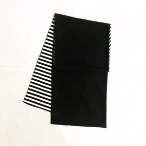 MIX FLEECE MUFFLER(BLACK/1)