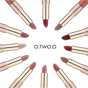 即納【O.TWO.O】12color 2wayマットリップグロス&スティック 9107A