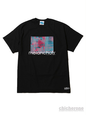 【SLEEPING TABLET】MELANCHOLY [ TEE ] BLACK