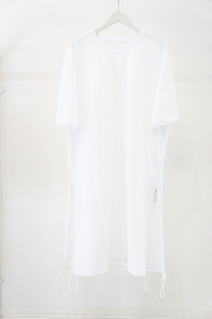Tied Short Sleeve -WHITE- / Ground Y
