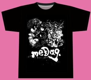 「白黒灰脂 × 31AH × meDag.」コラボレーションTシャツ サイズXXXL