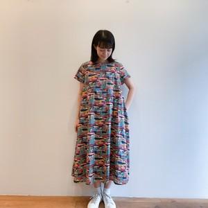 C-71098 【Peaceful Bloom Dress】Libery Dress