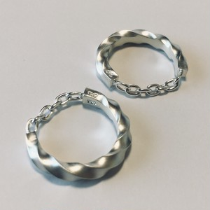 twilo chain ring Silver×Silver M3