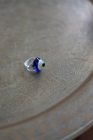 MARYAM NASSIR ZADEH - EVIL EYE RING