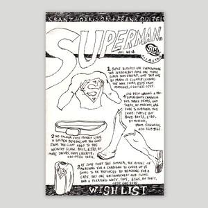 Jon Chandler/Original drawing 'SUPERMAN'