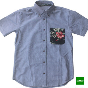 SAIKICKS ALOHA POCKET OXFORD SHIRT