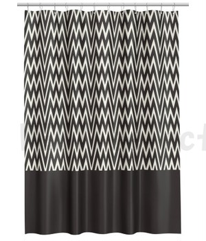H&M HOME シャワーカーテン <Patterned Shower Curtain>
