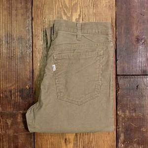 1980s Levi's 519 - 1523 Corduroy Pants Beige #2 / リーバイス コーデュロイ パンツ ベージュ コーズ