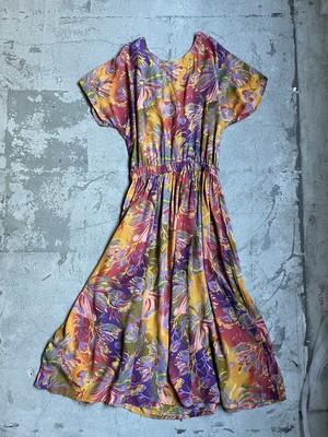 """""""TOGETHER"""" vintage back open design dress"""