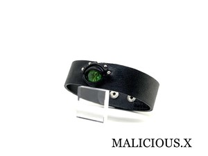 reptelis(A) belt choker(2snap)/ green