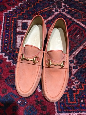 .GUCCI LEATHER HORSE BIT LOAFER MADE IN ITALY/グッチレザーホースビットローファー 2000000033556