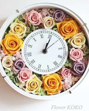 大人気の花時計