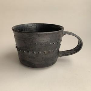seed mug(metallic black)