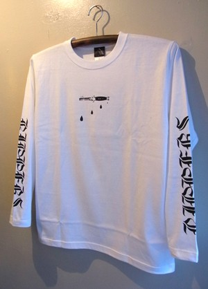 SALL‼︎ RIPPERS - L/S T-shirt (WHITE)