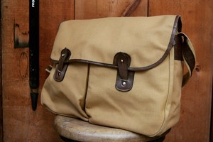 USED Unknown Canvas×Leather Shoulder Bag  B0331