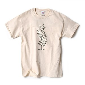 ARENAL × VOLN T-SHIRT A / NATURAL