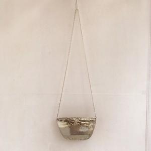 vintage silver spangle shoulder bag