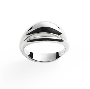 ❰ New ❱ Commix bold silver ring