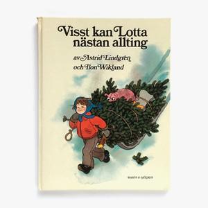 アストリッド・リンドグレーン「Visst kan Lotta nästan allting(ロッタちゃんとクリスマスツリー)」《1977-02》