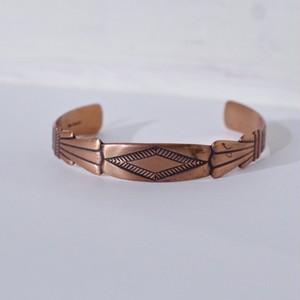 Indian Copper Bangle / ヴィンテージ インディアン カッパー バングル