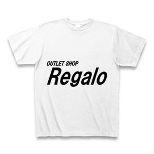 OUTLET SHOP『Regalo』オリジナルTシャツ(ホワイト)