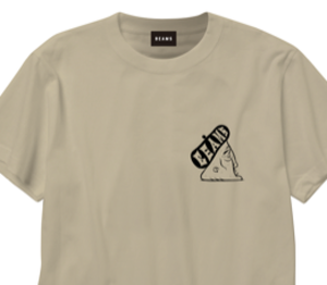 Barry McGee - BEAMS T-shirt Beige M