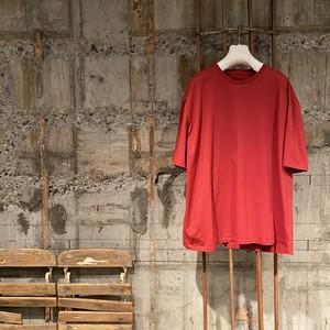 コピー:Maison Margiela【メゾン マルジェラ 】オーバーサイズ Tシャツ(レッド).