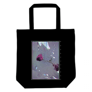 HOLOGRAM ROSE : TOTE BAG(M)