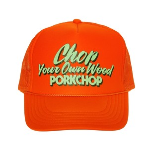 CHOP YOUR OWN WOOD CAP/ORANGE