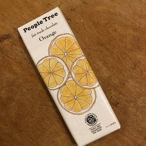 peopletree フェアトレードチョコレート オレンジ