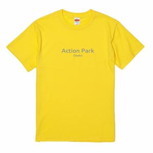 【イエロー】Action Park Osaka オリジナルTシャツ