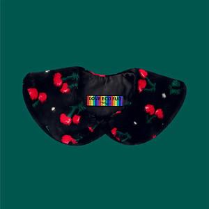 Eco Fur Collar - Cherry